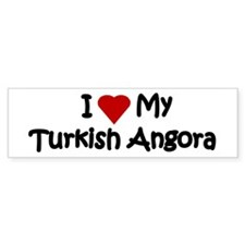 Turkish Angora Bumper Bumper Sticker