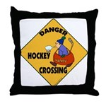 Amateur Hockey Throw Pillow