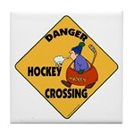 Amateur Hockey Tile Coaster