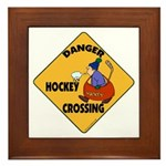 Amateur Hockey Framed Tile