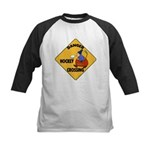Amateur Hockey Kids Baseball Jersey