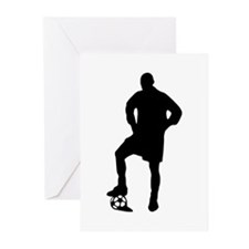 Soccer Player Greeting Cards (Pk of 20)
