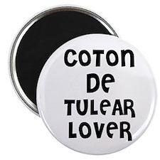 COTON DE TULEAR LOVER Magnet