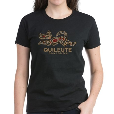 Quileute Reservation Women's Dark T-Shirt