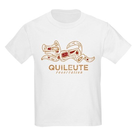 Quileute Reservation Kids Light T-Shirt