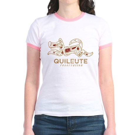 Quileute Reservation Jr. Ringer T-Shirt