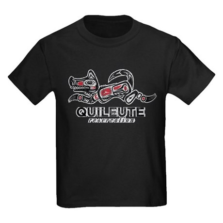 Quileute Reservation Kids Dark T-Shirt
