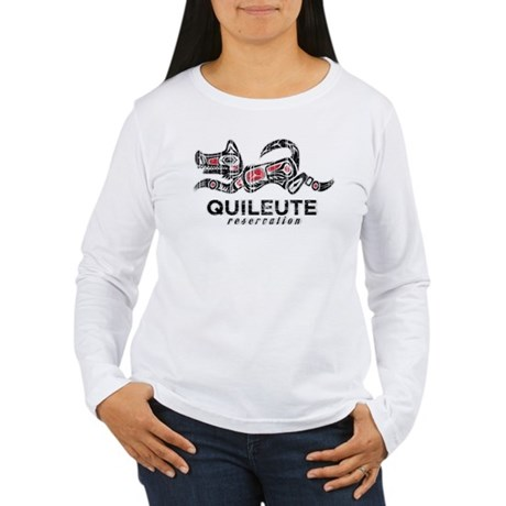 Quileute Reservation Women's Long Sleeve T-Shirt
