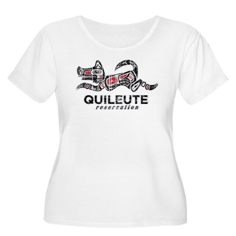 Quileute Reservation Women's Plus Size Scoop Neck