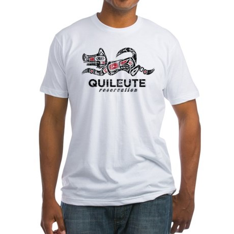 Quileute Reservation Fitted T-Shirt