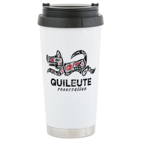 Quileute Reservation Ceramic Travel Mug