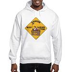 Hockey Player Hooded Sweatshirt