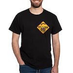 Hockey Player Black T-Shirt
