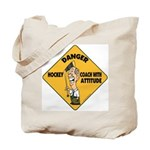 Hockey Coach Tote Bag