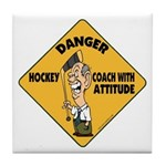 Hockey Coach Tile Coaster