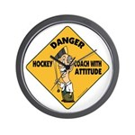 Hockey Coach Wall Clock