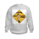 Hockey Coach Kids Sweatshirt