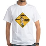 Hockey Coach White T-Shirt