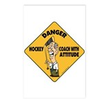 Hockey Coach Postcards (Package of 8)