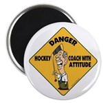 Hockey Coach Magnet