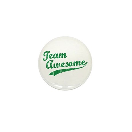 Team Awesome Mini Button