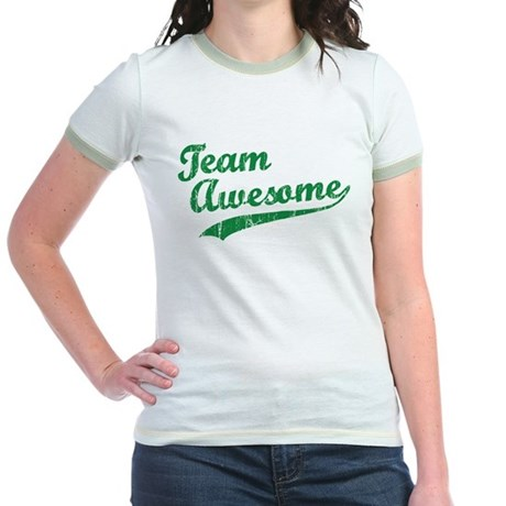 Team Awesome Jr. Ringer T-Shirt