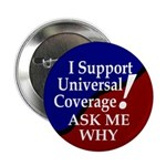 "Universal Health Care 2.25"" Button (10 pack)"
