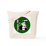 I Golf Tote Bag
