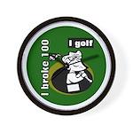 I Golf Wall Clock