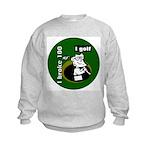 I Golf Kids Sweatshirt