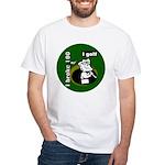 I Golf White T-Shirt