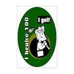 I Golf Mini Poster Print