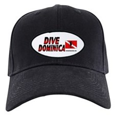 Dive Dominica (red) Baseball Hat