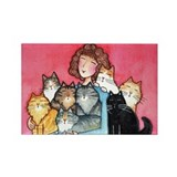 8GR8CATS...Refrigerator Magnet (no text)