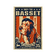 Basset Patriotism Magnets (10 pack)