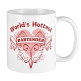 World's Hottest Bartender Small Mug