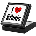 I Love Ethnic Keepsake Box