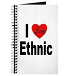 I Love Ethnic Journal