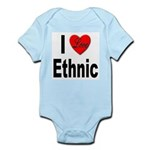 I Love Ethnic Infant Creeper