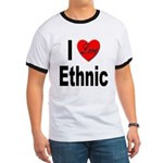 I Love Ethnic Ringer T