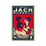 Obey the Jack Russell! Magnets (10 pack)