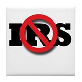 No IRS Tile Coaster