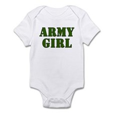 Army Girl Infant Creeper