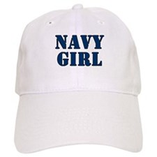 Navy Girl Baseball Cap
