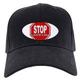 STOP SNITCHING Black Hat - w/ Premium Logo Patch