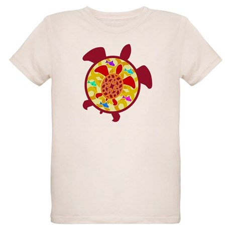 Turtle Within Turtle Organic Kids T-Shirt