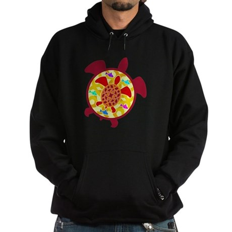Turtle Within Turtle Hoodie (dark)