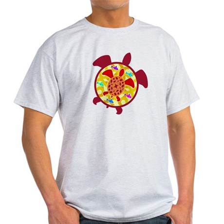 Turtle Within Turtle Light T-Shirt