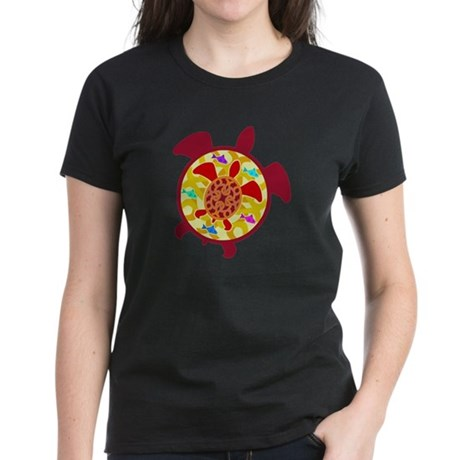 Turtle Within Turtle Women's Dark T-Shirt