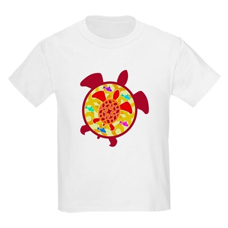 Turtle Within Turtle Kids Light T-Shirt